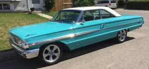 INCREDIBLE 1964 FORD GALAXIE 500XL SPORT COUPE!  88,000 MILES!