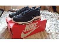 Air Max 97 (Black/White) Size UK 10 EXCLUSIVE!!