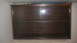 Cabinet with sliding Glass doors