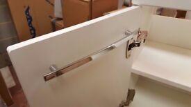 Utopia white gloss basin unit 600mm
