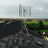 Television Antennas Installed