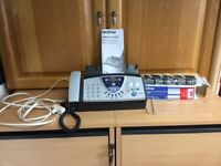 Brother Fax Machine with Answerphone Series T106