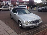 Mercedes CLK 3.2 Convertible 75000 Miles Only