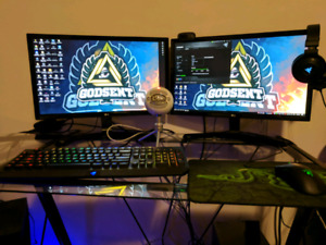 FULL GAMING SET UP FOR SALE!!!!