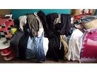 21 items women's trousers, skirts, shorts etc next, denim jeans, river island clothes bundle