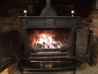Traditional Cast Iron Woodburner