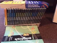 English and maths books and DVD's for children ages 10 and upwards. Simply English and maths.