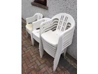Garden chairs SOLD