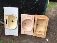 Caravan/ camper plastic sinks