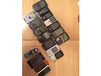 Job lot mobile phones x18