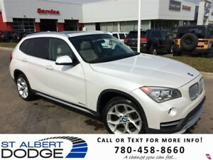 2015 BMW X1 xDrive28i | AWD | HEATED LEATHER | PAN SUNROOF