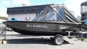 @99.99 BI-WEEKLY WHY BUY USED? 16FT LEGEND & MOTOR & TRAILER