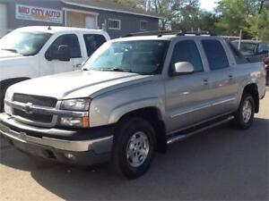 2005 Chevrolet Avalanche LT $4995 MIDCITY 1831 SASK AVE