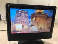 15.6'' Freeview TV. 15 inch TV. Flatscreen ideal caravan, kids room small TV