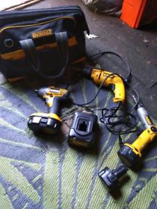 Dewalt Tools and bag
