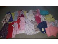 3 -6 girls baby clothes some new with tags hardly worn. Smoke free home.