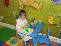 registered childminder available