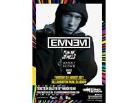 2 Eminem tickets for sale, Bellahouston Park 24th August