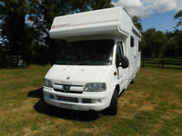 Elddis Autoquest 180 6 berth motorhome for sale Gloucester