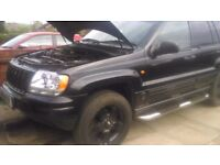 jeep grand cherokee breaking for spares 99 to 2004 2.7 crd mercedes sprinter engine