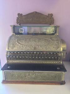 antique 1915 National cash register
