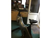 Computerised exercise bike