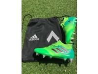 Genuine Adidas size 8 Ace17 + Pure Control FG Football boots