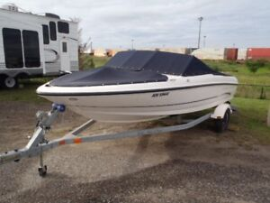 2005 Bayliner 175 boat with trailer