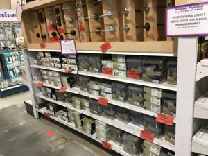 50% OFF MOST IN STOCK TAYMOR KNOBS, LEVERS, DEADBOLTS & GRIPSETS