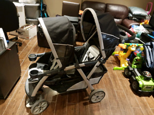 Stroller chicco double