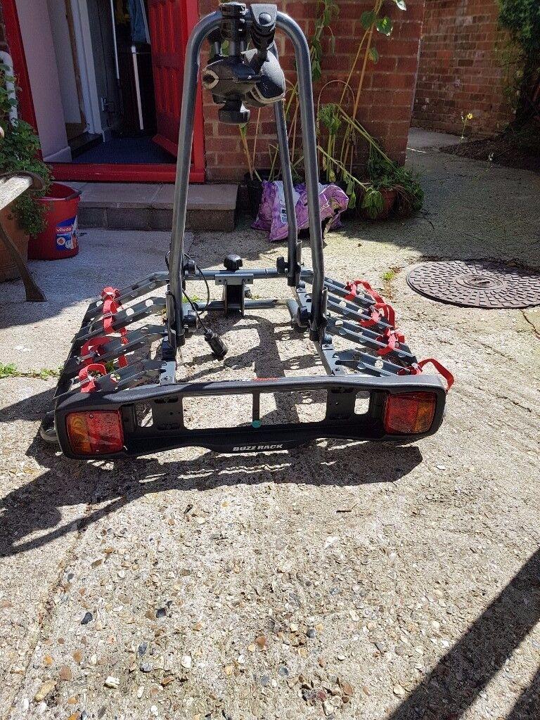 Exodus Roof Bars >> BUZZ RACK Quattro Tilting 4 Bike Rack | in Fareham, Hampshire | Gumtree
