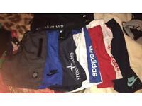 Size medium Nike/adidas/stone island shorts £10