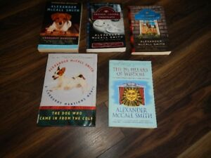 Alexander McCall Smith Books $1 each or all for $3