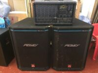 Peavey XR600E + HISYS XT Speakers / PA / Mixer / DJ / Live Music / Rehearsal PA