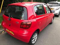 Toyota Yaris 1.2 automatic mileage 45850 no accident