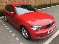 2007 57 Red BMW 118 2.0TD SE ( Dynamic pk )