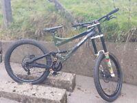 PRICE DROP !!! specialized sx trail downhill bike