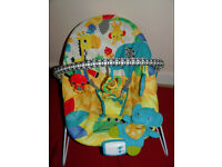 Bright Starts Baby Bouncer, Excellent Used Condition