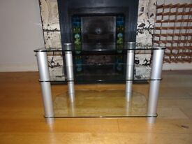 John Lewis Glass TV Stand - Pick up only