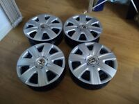Volkswagen Original Steel Wheels 14""