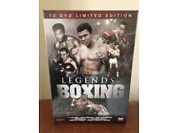 Legends of boxing 12 DVD limited edition