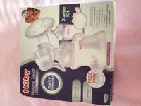Nuby breast pump manual