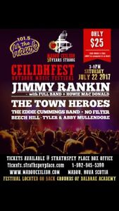 Wanted: 2 Ceilidhfest tickets