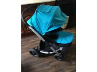 Mamas & Papas Sola City Pram / stroller & Car Seat