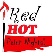 Red Hot Paint Night Bachelorette Party!