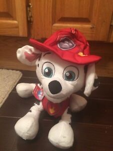 Paw Patrol Plush with batteries