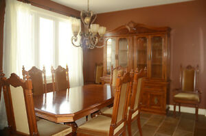 Dining Set with Buffet and Hutch