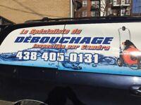 SPECIALISTE DEBOUCHAGE438 405 0131 RACINE ODEUR RATS