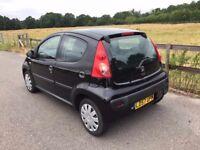2007 Peugeot 107 1,0 litre 5dr 1 owner FSH
