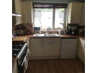 Kitchen for sale modern with integrated fridge and freezer